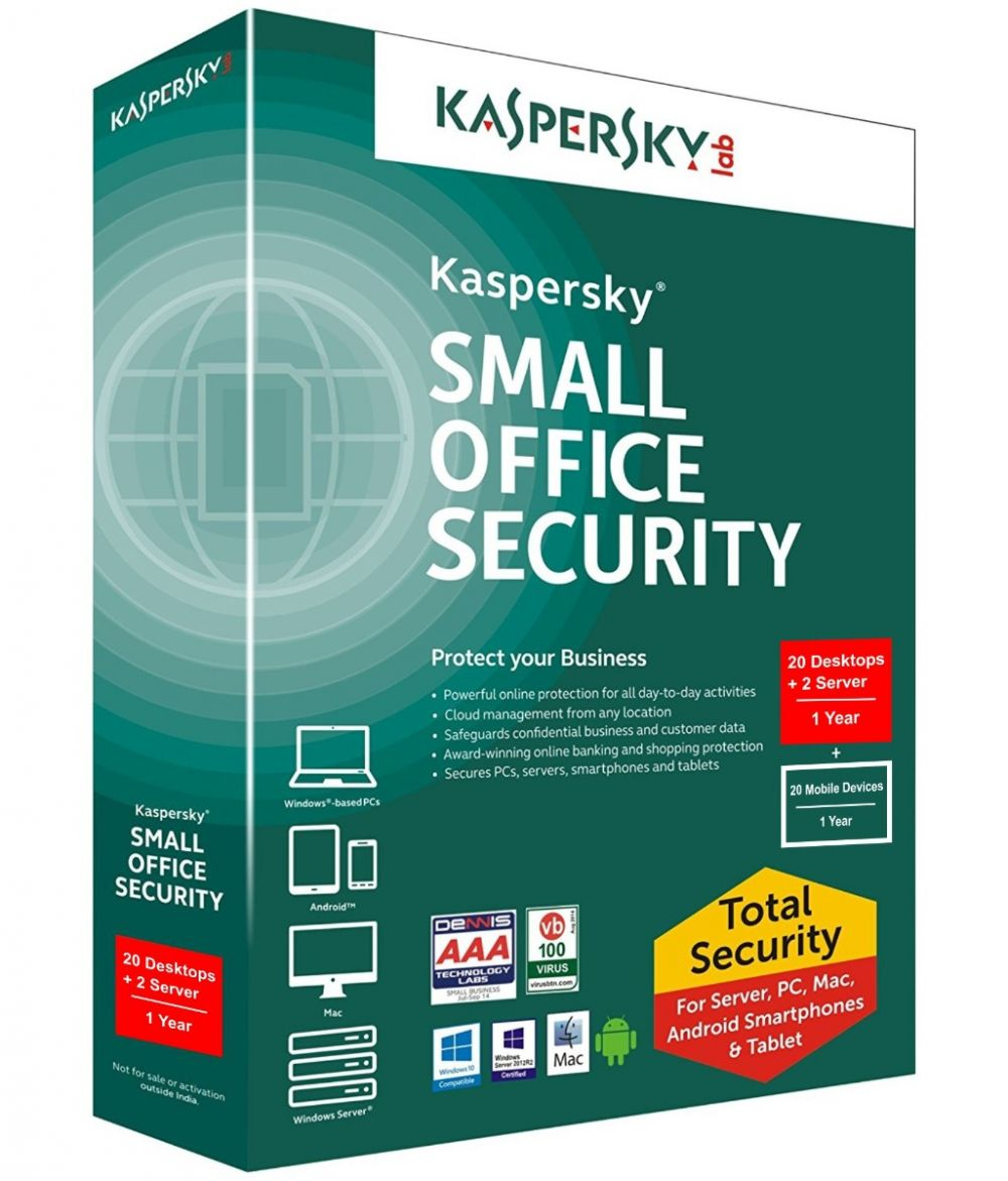 Kaspersky Small Office Security 20 User Pack